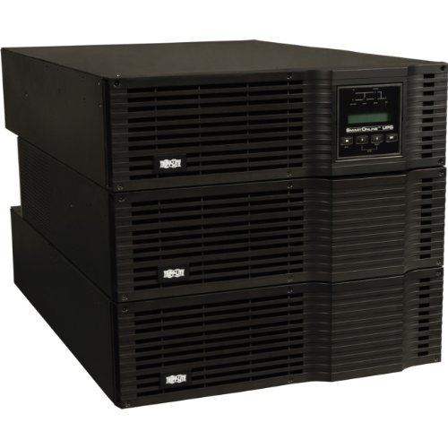 Tripp Lite SU6000RT3U SmartOnline 6kVA On-Line UPS, 9U Rack/Tower, 208/120V or 240/120V Hardwire output by Tripp Lite