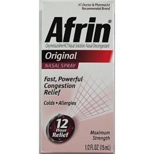 Afrin Original Nasal Spray .5 oz Case Pack 36 - 743289