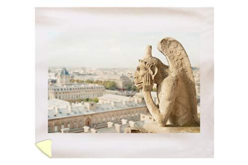 Lantern Press Gargoyle on Notre Dame, France Photography A-91332 (88x104 King Microfiber Duvet Cover)