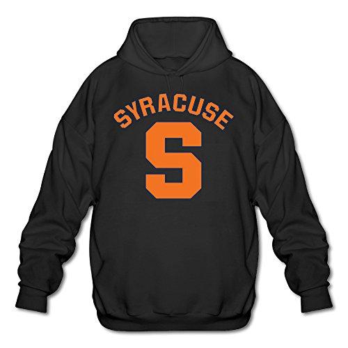 PTR Men's Hoodies - Syracuse University Black Size L
