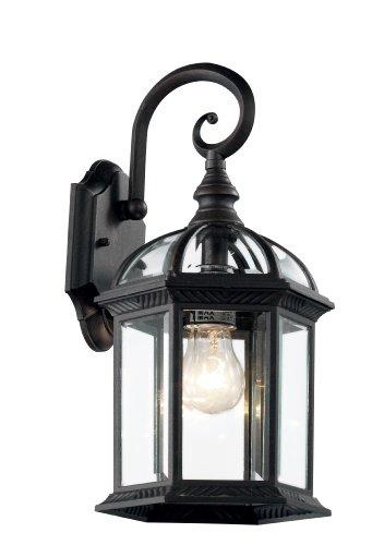 Black Exterior Light Fixtures Amazoncom