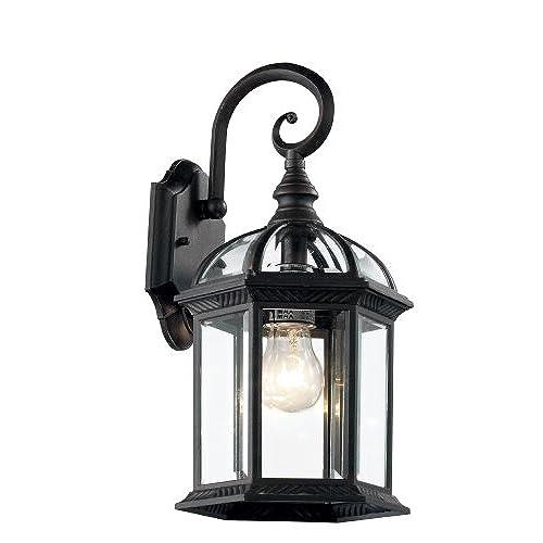 Trans Globe Lighting 4181 BK Outdoor Wentworth 1575 Wall Lantern Black