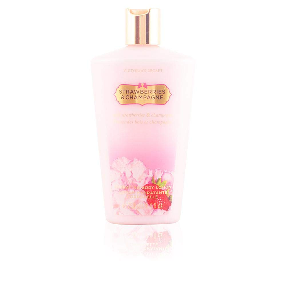Victoria's Secret Body Lotion for Women, Strawberries and Champagne, 8.4 Ounce