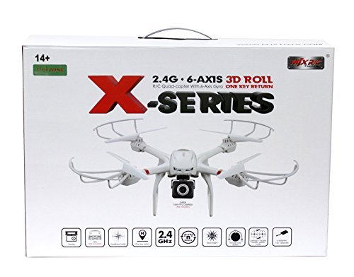 Helizone FPV Drone HD Camera Live Video 720p Wifi Quadcopter with One Key Return, Headless Mode, VR Compatible by Helizone by Helizone