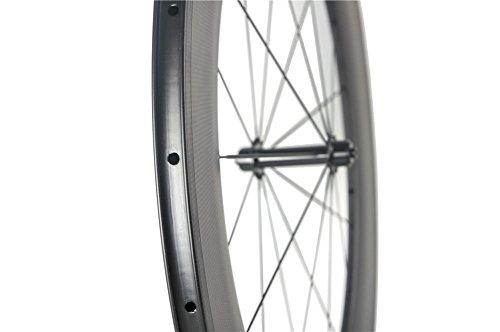 Queen Bike 88mm Clincher Wheels Carbon Wheelset for Road Bike Powerway Hub 700c 1 Pair