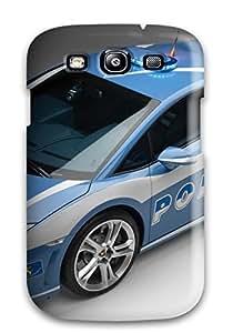 Galaxy Case - Tpu Case Protective For Galaxy S3- Bugatti Car