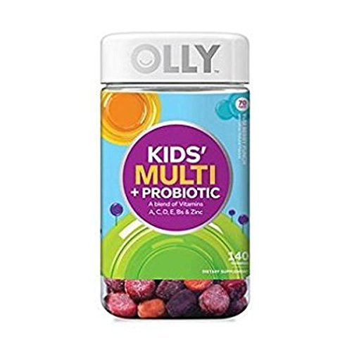 Lil' Ollys Kids' Multi + Probiotic Yum Berry Punch Vitamin Gummies (140 ct.) Review