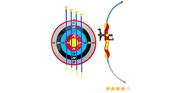 amazon com : paradise treasures sport archery set with target stand quiver  and laser beam attachment sight : sports & outdoors