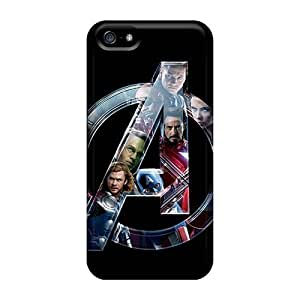 Awesome ZXG14958byFx DateniasNecapeer Defender Hard Cases Covers For Iphone 5/5s- The Avengers Super Heroes