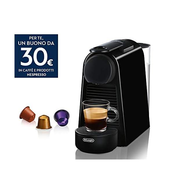 De' Longhi En85.B Macchine per Il caffè a Sistema Nespresso Essenza, 1370 W, 0.6 milliliters, Plastica, Nero 2