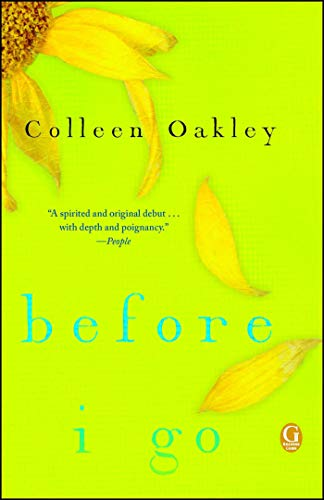Before I Go: A Book Club Recommendation! ()