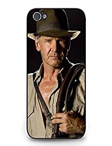 3063417M666165164 Iphone 5C Case, Slim Fit Clear Back Iphone 5C Phone Case, Individual Indiana Jones Series Phone Accessories