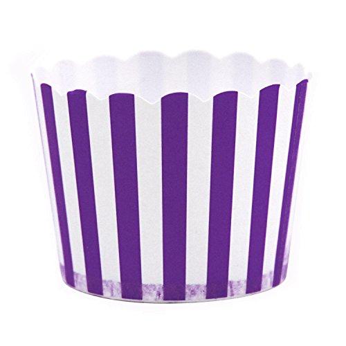 Dress My Cupcake Striped Purple