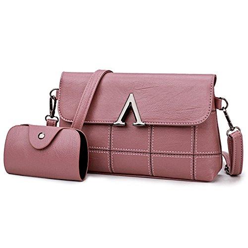 Rose Sacs Main Bag Sac Pink Messenger Des D'Épaule Meaeo Enveloppes Sac À fwF1UxqB