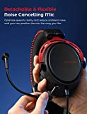 Mpow Air II PS4 Headset with 3D Sound, Detachable
