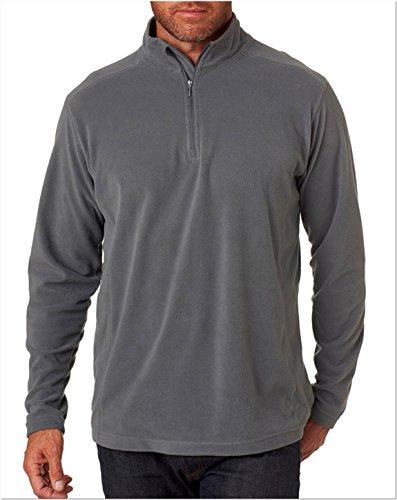 1/4 Zip Polyester Fleece Pullover - 4