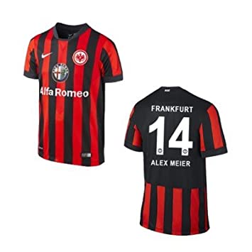 Nike Sg Eintracht Frankfurt Trikot Home Kinder 2014 2015 Alex