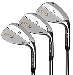 Pinemeadow Pre 3 Wedge Pack (Right-handed, Steel, Regular, 525660-degrees)