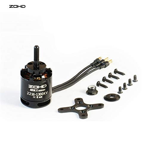 Accessories ZOHD Dart XL Extreme FPV RC Airplane Spare Part 2216-1300KV Brushless Motor MKII Series ()