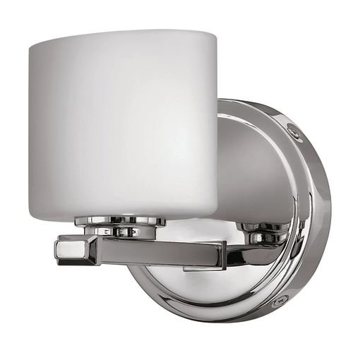 Hinkley 5420CM Contemporary Modern One Light Bath from Ocho collection in Chrome, Pol. (Hinkley Chrome Sconce)