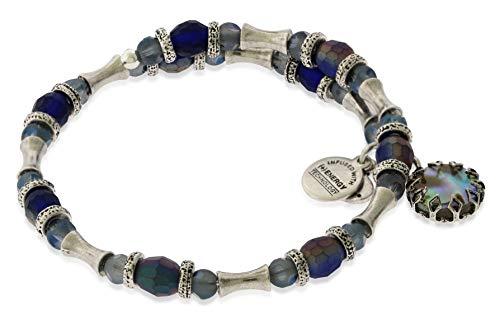 Alex and Ani Women's Riches Wrap Rafaelian Silver One Size ()