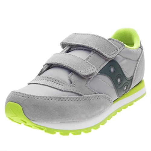 Chaussures grey Bleu De Jazz Saucony 4 Mixte Enfant Greem Cross dark Gris Double Hl x4tqqRwvp