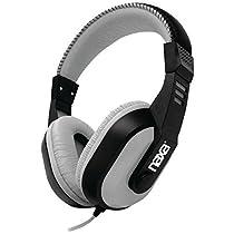 TopOne Naxa NE 934GRAY DJZ Ultra Plus Headphone Earbud Combo Gray
