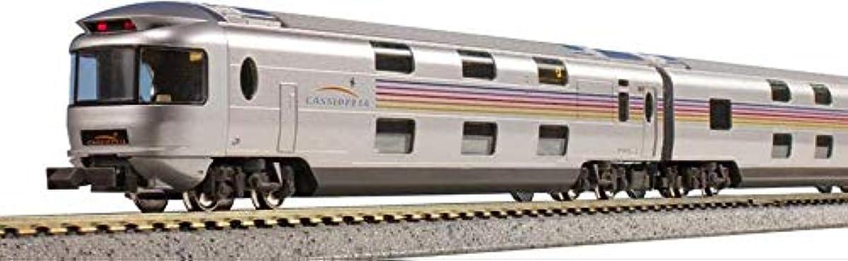 [해외] KATO N게이지 E26 계「카시오페아」 6 양기본 세트 10-1608 철도 모형 객차