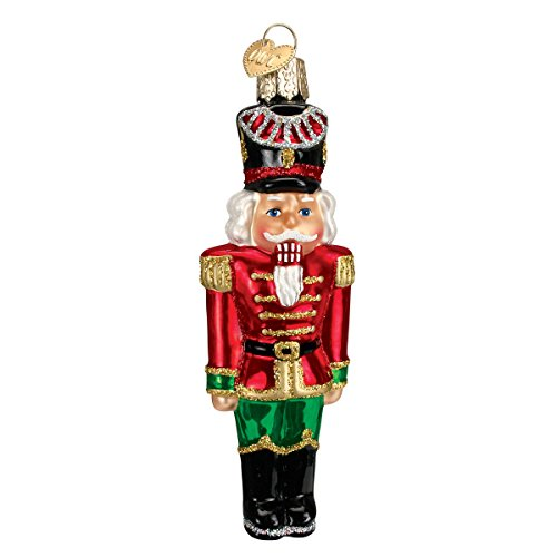 Old World Christmas Nutcracker General Glass Blown (Old World Christmas Nutcrackers)