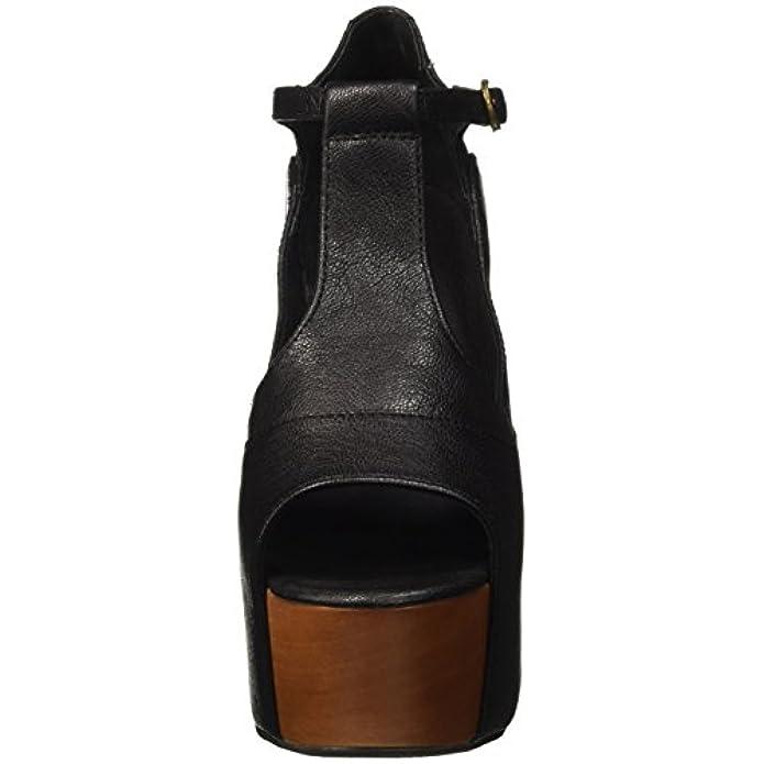 Jeffrey Campbell Foxy Leather Sandali Con Tacco Donna