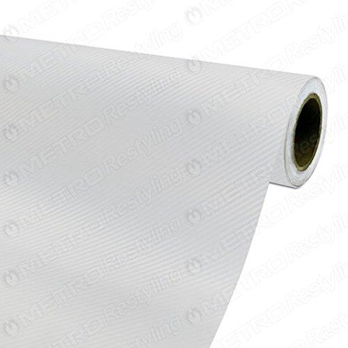 3m carbon fiber vinyl white - 7