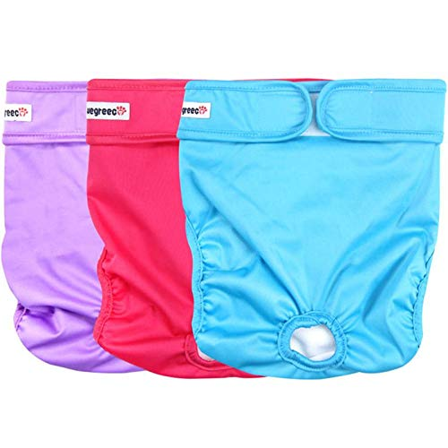 wegreeco Premium Diapers, Durable Reusable, for Female