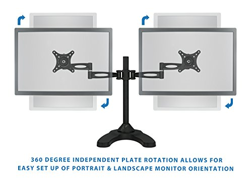 Mount It Dual Lcd Screen Mounting Bracket Articulated