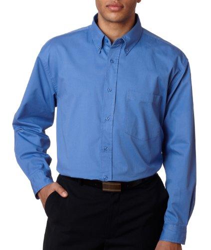 8976UltraClub Ladies 'susurro de sarga camiseta Aciano