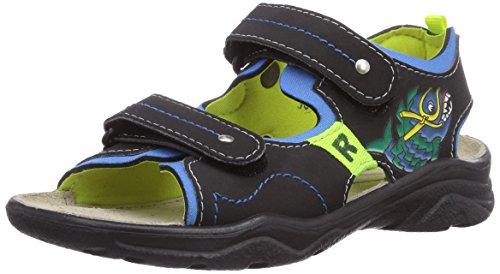Ricosta Surf - sandalias abiertas de material sintético niño azul - Blau (antra/sky 120)
