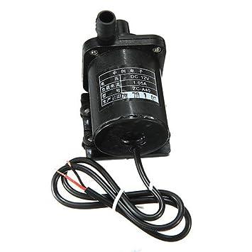 Pompa acqua 12v dc 1a potente micro senza spazzola magnetica anfibio apparecchio