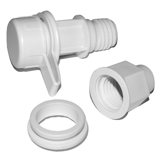 Coleman Cooler Drain Plug Assembly for 150 Quart Marine Coolers (#5250-1141)