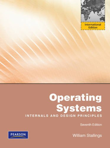 Librarika Operating Systems Internals And Design Principles 6 E Two Color Edition New Edition