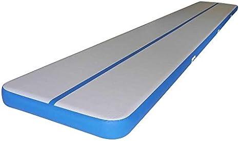 Bris Inflatable Air Tumbling Track Traning Mat Gymnastics Cheerleading Landing Mats Air Floor 8x2x0 1m Amazon Co Uk Sports Outdoors