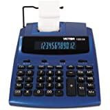 1225-3A Antimicrobial Two-Color Printing Calculator, Blue/Red Print, 3 Lines/Sec, Sold as 2 Each