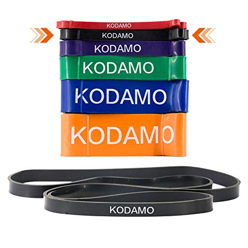 KODAMO Pull-up Assist Bands - Exercise Resistance/Stretch Ba