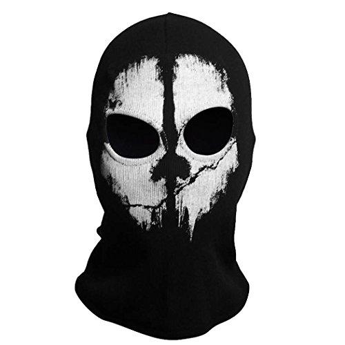 Call Of Duty Cod 10 Ghosts Logan Balaclava Ski Skull Hood: Coofit Ghost Skull Balaclavas Skiing Airsoft Paintball