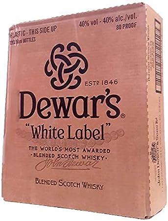 DEWAR'S WHITE LABEL CAJA DE 120 BOTELLAS DE 5 CL