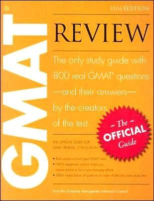 GMAT Review (11th) Eleventh Edition