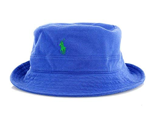 - RALPH LAUREN Polo Mens Mesh Bucket Hat (L/XL, CLC Royal)