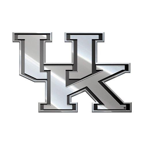 Kentucky Wildcats Solid Metal 3-D Chrome Emblem Medium SD