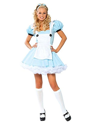 Alice in Wonderland Adult Costume - Small/Medium