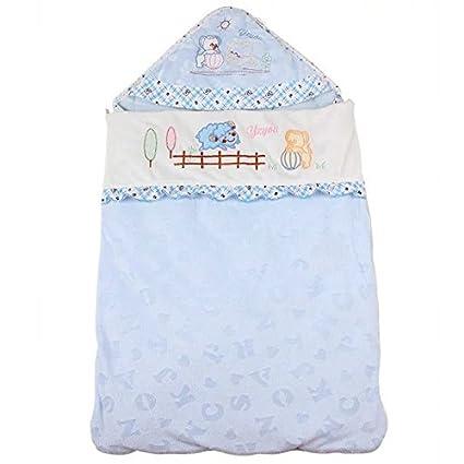 (6 – 18 meses) 32 * 19 cm azul/rosa pijamas de algodón
