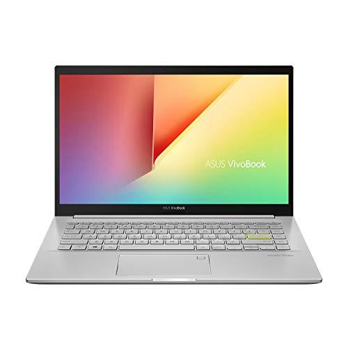 ASUS VivoBook Ultra K14 (2021), AMD Ryzen55500U, 14-inch FHD Thin and Light Laptop (8GB RAM/512GB SSD/Integrated Graphics/Office 2019/Windows 10/Transparent Silver/1.4 Kg), KM413UA-EB503TS