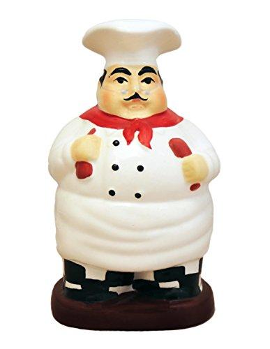 Chef Utensil Holder - Fat Chef Kitchen Utensil Spoon Tool Holder Set